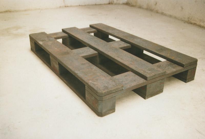 Träger, Installationsansicht Kunstakademie Stuttgart