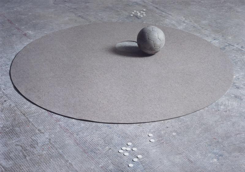 jeu (Spiel), Installationsansicht Kunstakademie Stuttgart