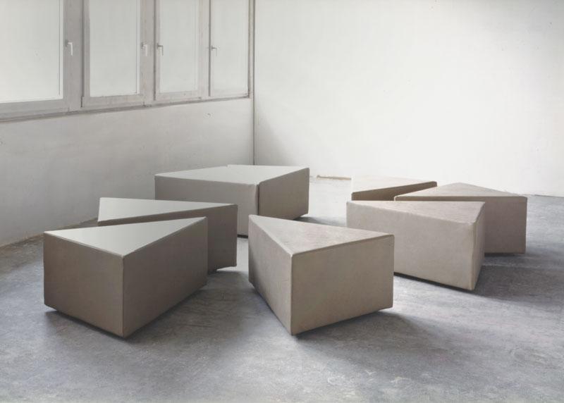 8 mal 1, Installationsansicht Kunstakademie Stuttgart