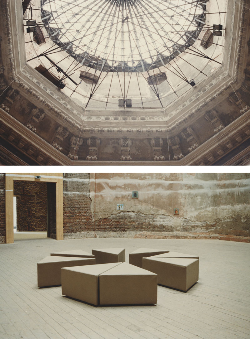 8 mal 1, Installationsansicht Oktogon Dresden