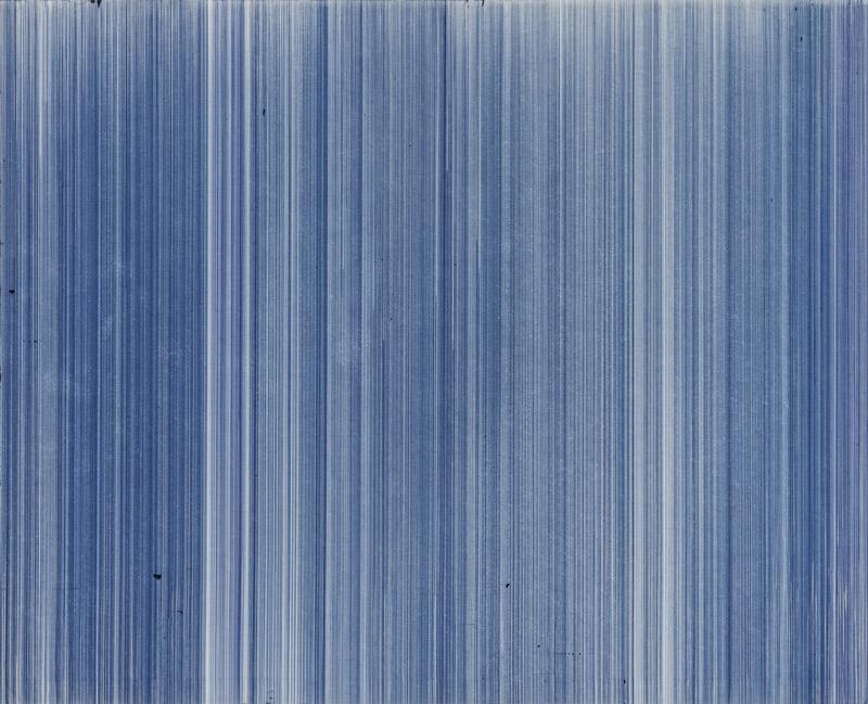 o.T. (schn. express 57B, blau), Nr.1, 2004