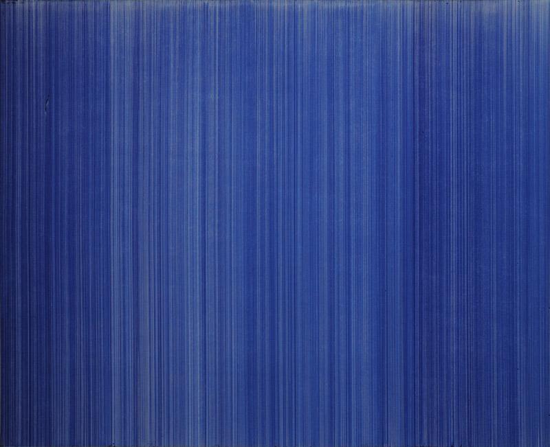 o.T. (schn. office 575, blau), Nr.2, 2009