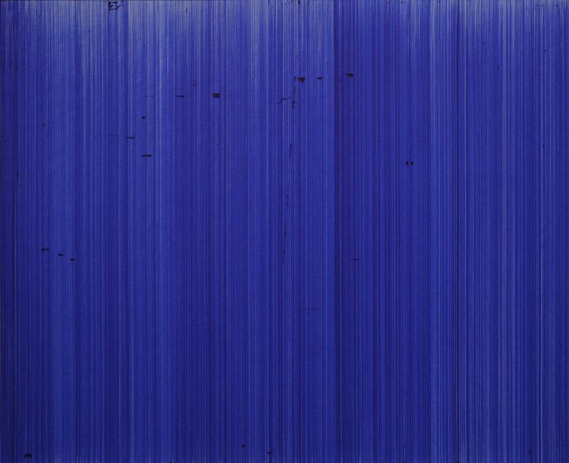 o.T. (schn. express 775M, blau), Nr.5, 2012