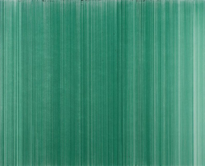 o.T. (schn. office 575M, grün), Nr.2, 2010