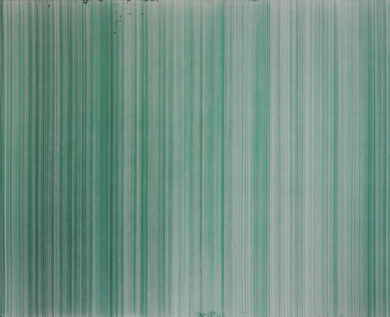o.T. (schn. office 575M, grün), Nr.3, 2011
