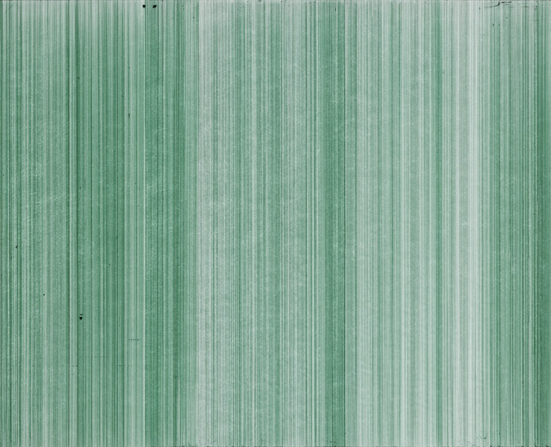 o.T. (schn. office 575M, grün), Nr.5, 2014