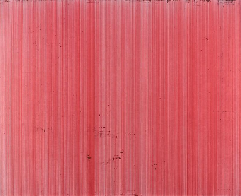 o.T. (schn. office 575M, rot), Nr.3, 2012