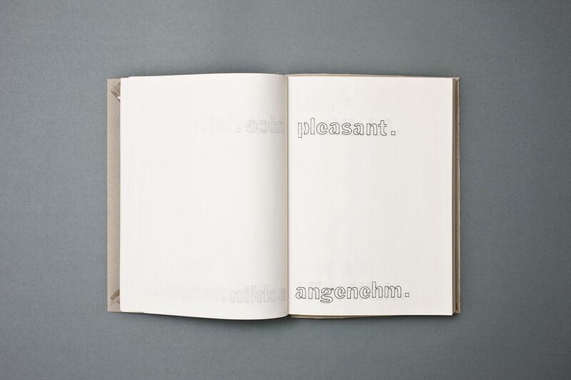 sprechen, Skizzenbuch, It sounds like ...