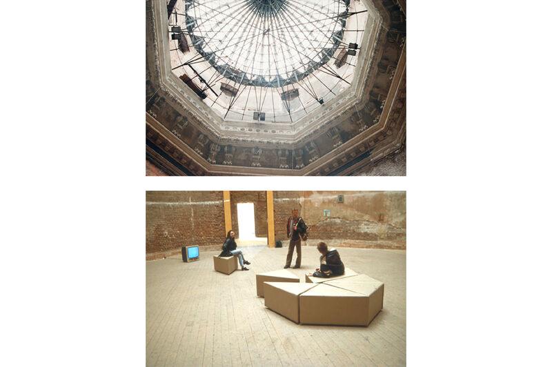 Installationsansicht Oktogon Dresden, 8 mal 1
