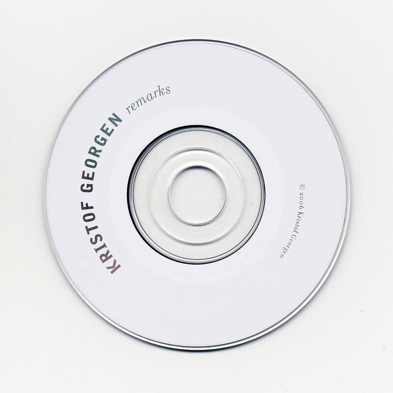 remarks CD 2006