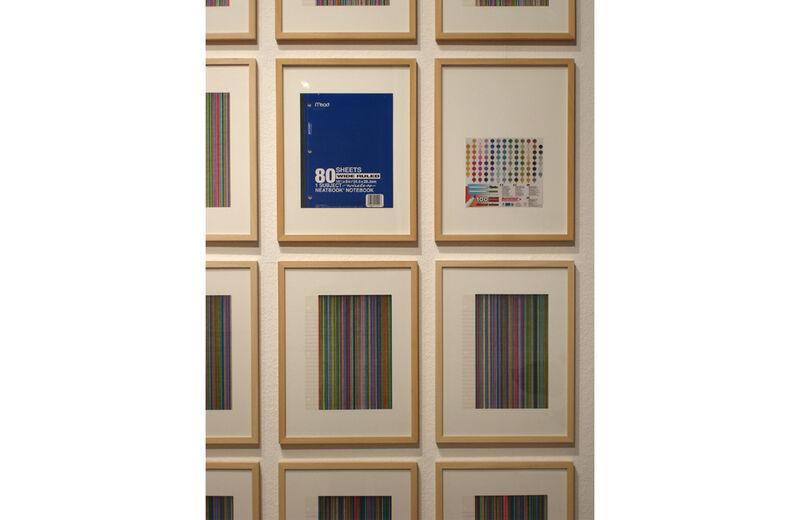 Ausstellungsansicht (Detail), Galerie der Stadt Waiblingen