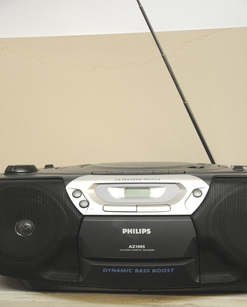 o.T. (Philips AZ 1005 Recorder)-2011