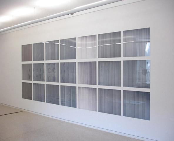 Ausstellungsansicht Heidelberger Kunstverein, 2006
